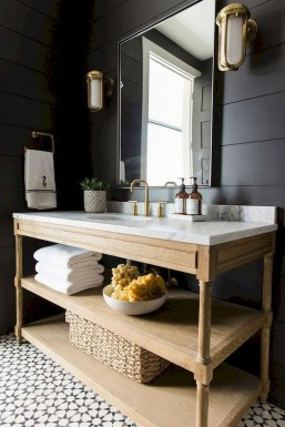 Adorable Farmhouse Bathroom Decor Ideas That Looks Cool 42