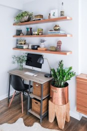 Affordable Diy Home Office Decor Ideas With Tutorials 01