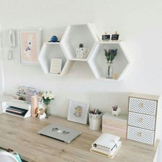Affordable Diy Home Office Decor Ideas With Tutorials 06