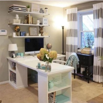 Affordable Diy Home Office Decor Ideas With Tutorials 15