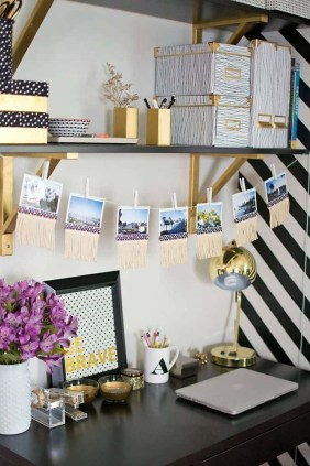 Affordable Diy Home Office Decor Ideas With Tutorials 17