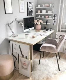 Affordable Diy Home Office Decor Ideas With Tutorials 19