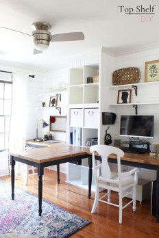 Affordable Diy Home Office Decor Ideas With Tutorials 24