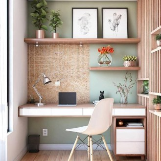 Affordable Diy Home Office Decor Ideas With Tutorials 44