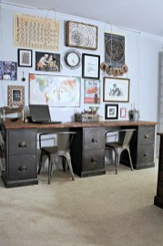 Affordable Diy Home Office Decor Ideas With Tutorials 46