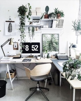 Affordable Diy Home Office Decor Ideas With Tutorials 50
