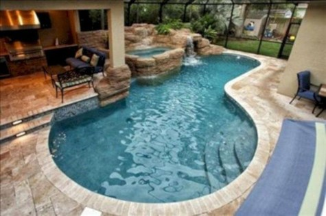 Amazing Swimming Pools Design Ideas For Small Backyards 02