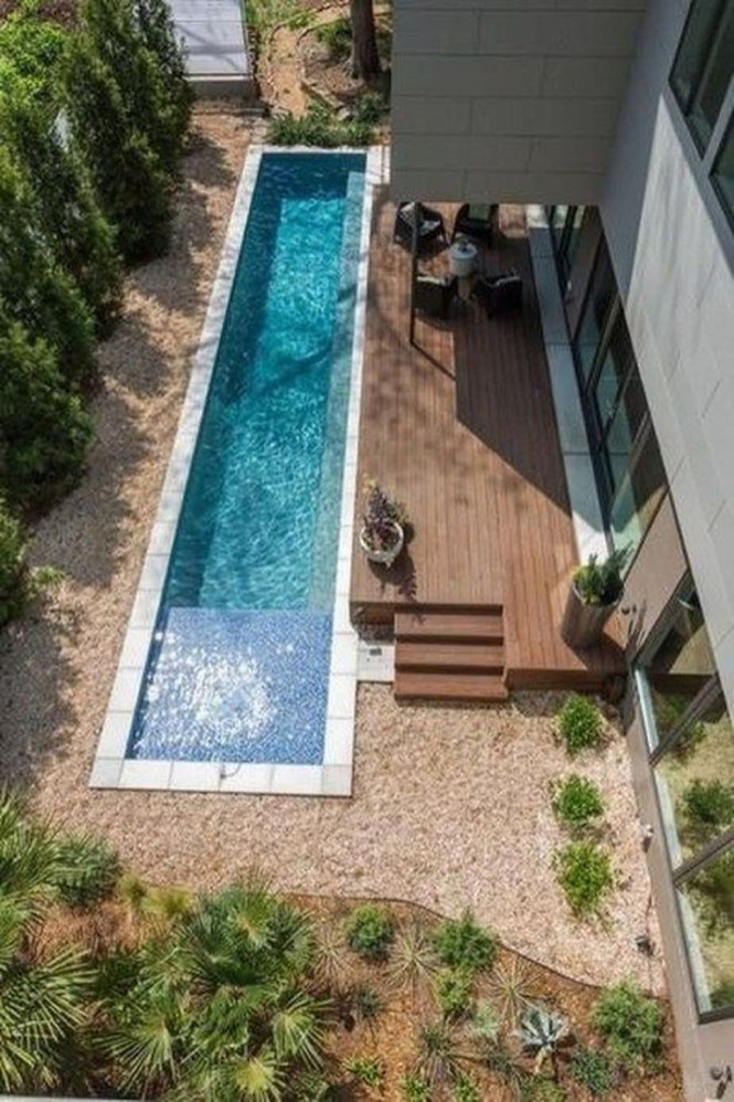 Amazing Swimming Pools Design Ideas For Small Backyards 28