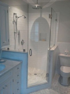 Astonishing Farmhouse Shower Tile Decor Ideas To Try 05