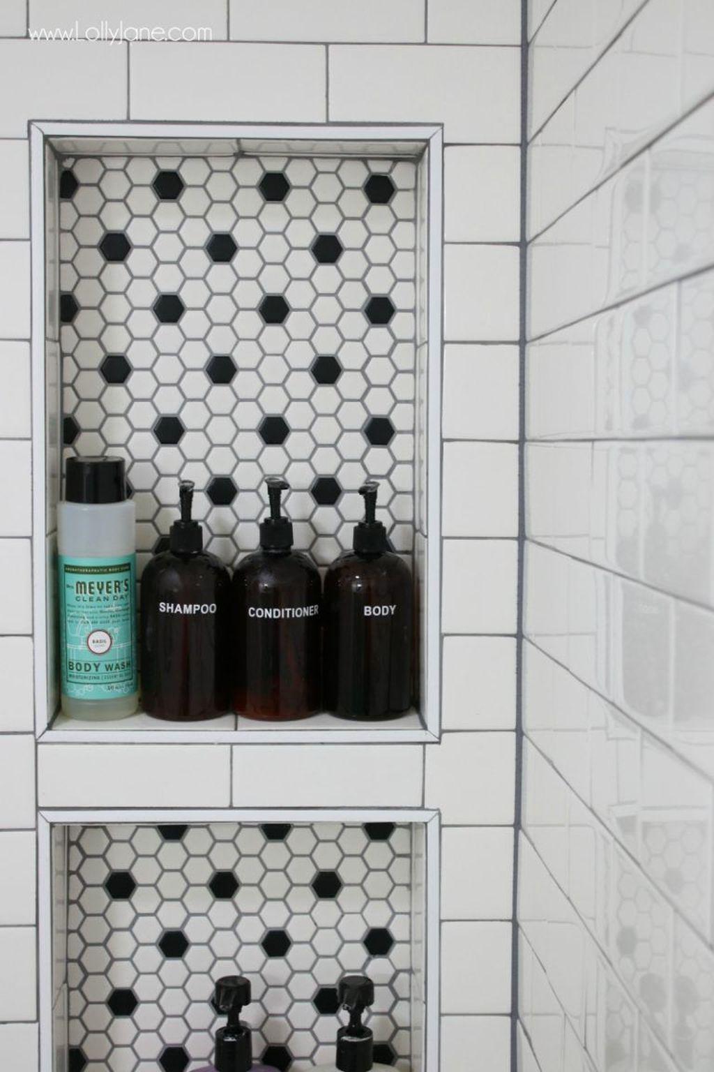 Astonishing Farmhouse Shower Tile Decor Ideas To Try 23