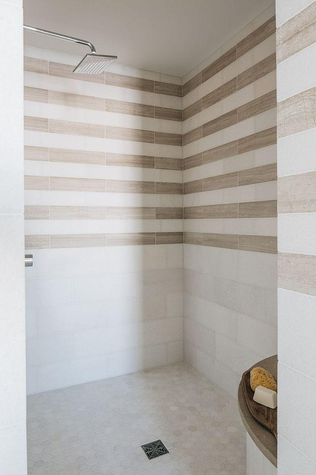 Astonishing Farmhouse Shower Tile Decor Ideas To Try 37