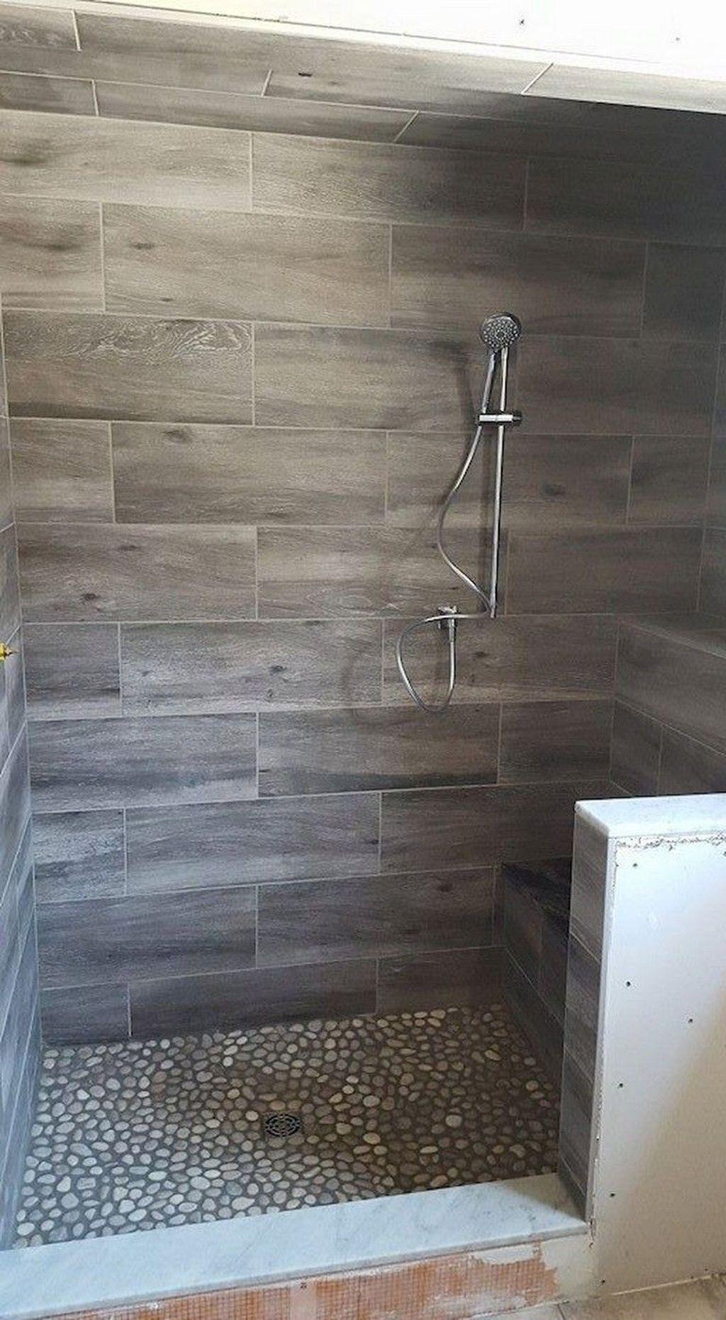Astonishing Farmhouse Shower Tile Decor Ideas To Try 47