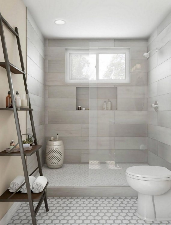 Astonishing Farmhouse Shower Tile Decor Ideas To Try 48