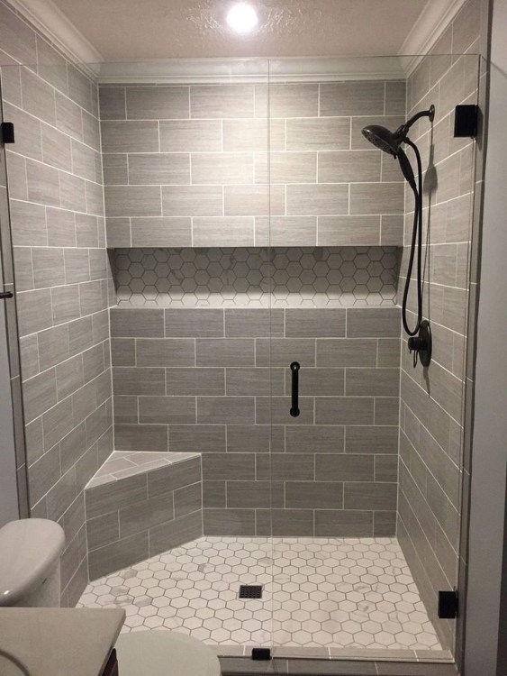 Astonishing Farmhouse Shower Tile Decor Ideas To Try 49