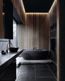 Best Contemporary Bathroom Design Ideas To Try 48