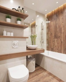 Best Contemporary Bathroom Design Ideas To Try 50