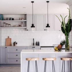 Comfy White Kitchen Cabinets Design Ideas To Try 05