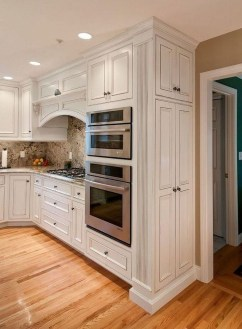 Comfy White Kitchen Cabinets Design Ideas To Try 19