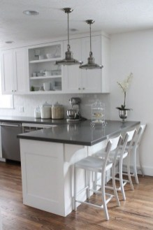 Comfy White Kitchen Cabinets Design Ideas To Try 23