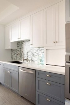 Comfy White Kitchen Cabinets Design Ideas To Try 25