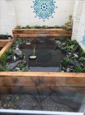 Cool Fish Pond Garden Landscaping Ideas For Backyard 21