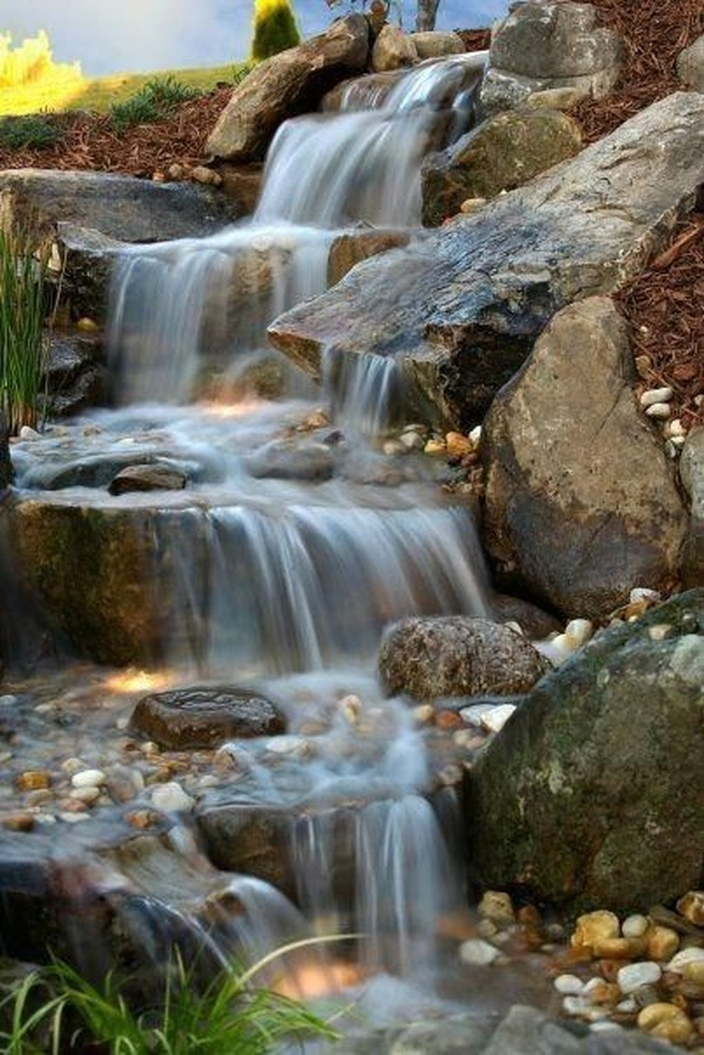 Cool Fish Pond Garden Landscaping Ideas For Backyard 24