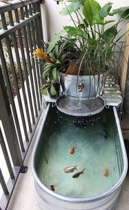 Cool Fish Pond Garden Landscaping Ideas For Backyard 30