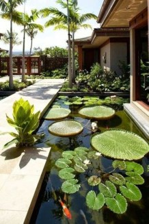 Cool Fish Pond Garden Landscaping Ideas For Backyard 43