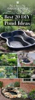 Cool Fish Pond Garden Landscaping Ideas For Backyard 44