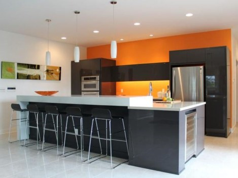 Cool Kitchen Designs Idas With Tones Of Vibrant Colors That You Must See 21