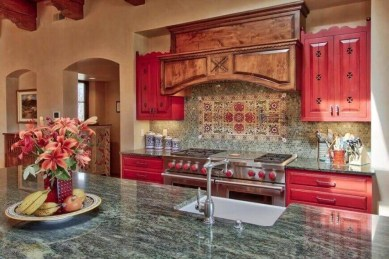 Cool Kitchen Designs Idas With Tones Of Vibrant Colors That You Must See 24