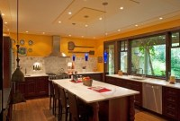 Cool Kitchen Designs Idas With Tones Of Vibrant Colors That You Must See 40