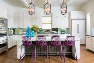 Cool Kitchen Designs Idas With Tones Of Vibrant Colors That You Must See 42