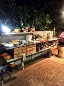 Cozy Outdoor Kitchen Decor Ideas For You 02