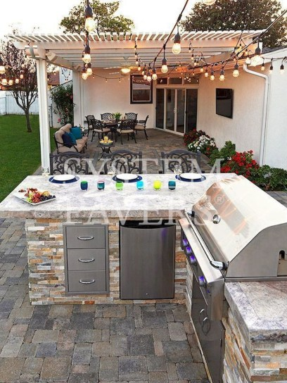 Cozy Outdoor Kitchen Decor Ideas For You 06