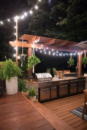 Cozy Outdoor Kitchen Decor Ideas For You 45