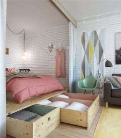 Cozy Suite Room Apartment Decorating Ideas To Try 30