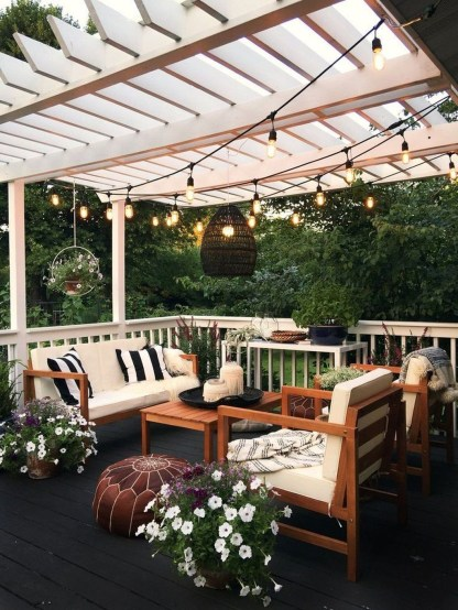 Enchanting Backyard Patio Remodel Ideas To Try 04