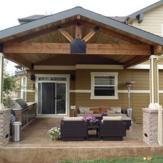 Enchanting Backyard Patio Remodel Ideas To Try 26