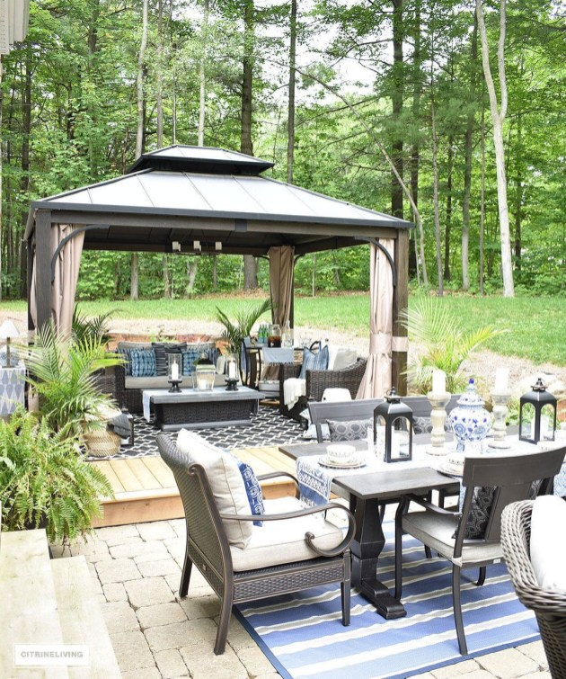 Enchanting Backyard Patio Remodel Ideas To Try 42