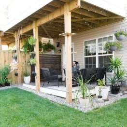 Enchanting Backyard Patio Remodel Ideas To Try 46