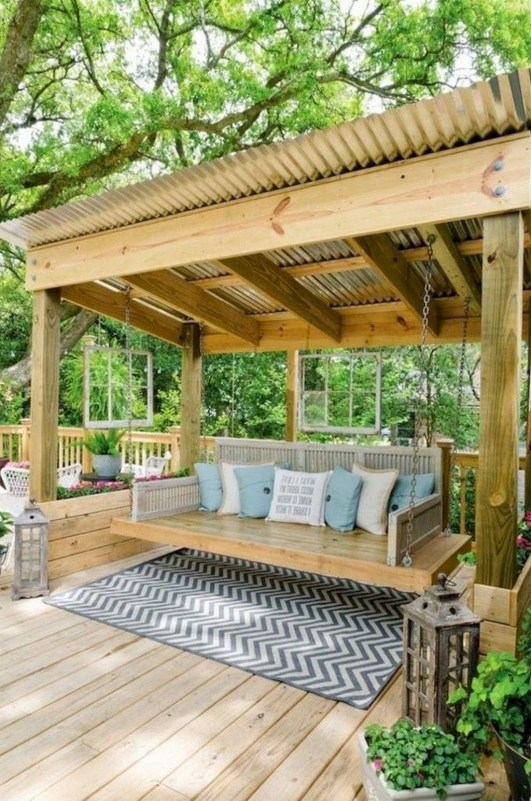 Enchanting Backyard Patio Remodel Ideas To Try 51