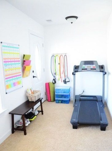 Enchanting Home Gym Spaces Design Ideas To Try Asap 09