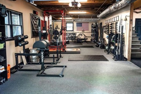 Enchanting Home Gym Spaces Design Ideas To Try Asap 17