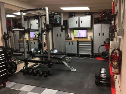 Enchanting Home Gym Spaces Design Ideas To Try Asap 35