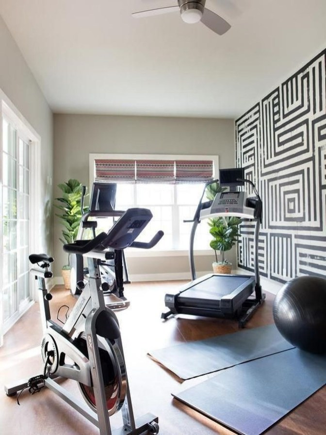 Enchanting Home Gym Spaces Design Ideas To Try Asap 38