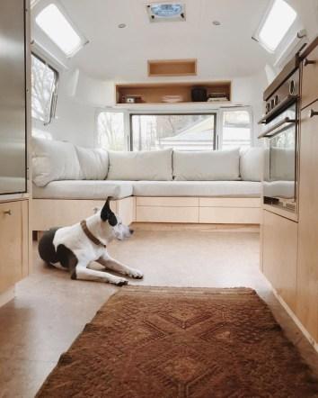 Excellent Airstream Interior Design Ideas To Copy Asap 34