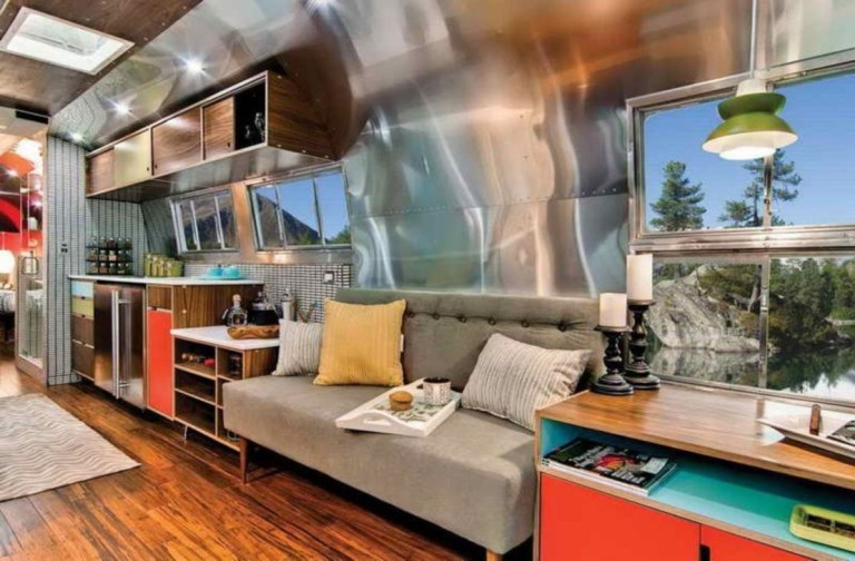 Excellent Airstream Interior Design Ideas To Copy Asap 48