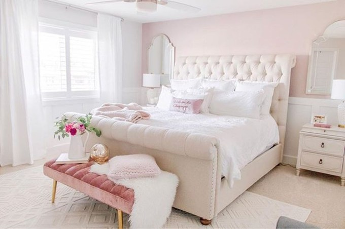 Fancy Champagne Bedroom Design Ideas To Try 09