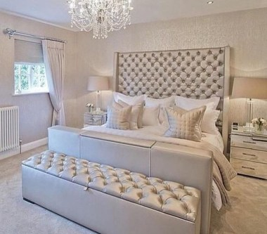 Fancy Champagne Bedroom Design Ideas To Try 19